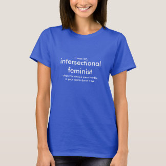 T-shirt Identification féministe de station