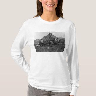 T-shirt Igloo esquimau près de Nome, photographie de