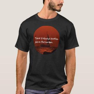 T-shirt Il y a toujours un autre bateau sur l'horizon