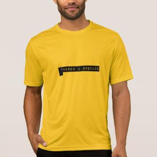 T-shirt il y a un tee - shirt de grenade par Jonas