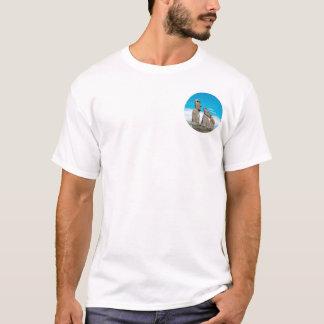 T-shirt île de Pâques, moai