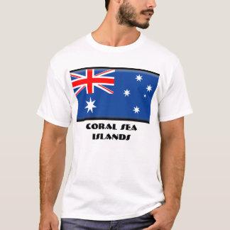 T-shirt Îles de mer de corail
