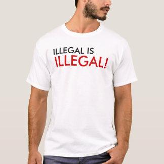 T-shirt illégal est illégal !