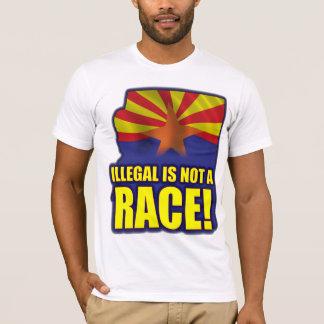 T-shirt Illégale n'est pas une course