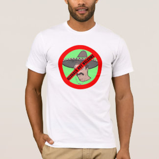 T-shirt Illegals non bienvenus