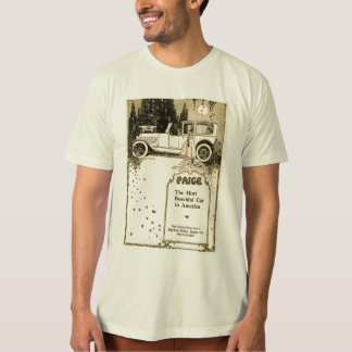 T-shirt Illustration 1917 de cru d'automobile de Paige