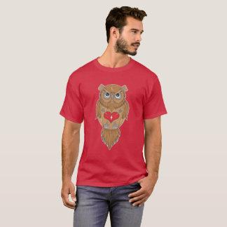T-shirt Illustration de hibou