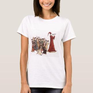 T-shirt Illustration du joueur de pipeau pie du livre de