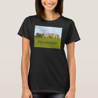 T-shirt Illustration Photorealistic de Stonehenge