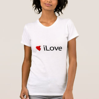 T-shirt iLove (parodie d'amour d'I)