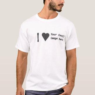 T-shirt ILove que ceci personnalisent