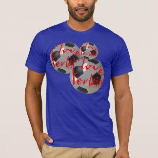 T-shirt Ilove Serbie
