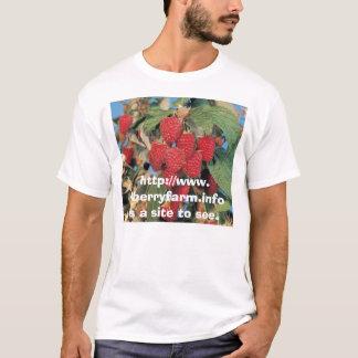 T-shirt Image de framboise, http://www.rlberryfarm.infoi..