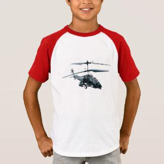 T-shirt Image d'hélicoptère de jouet pour la