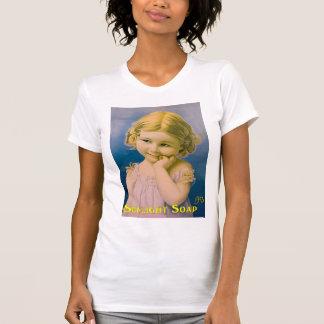 T-shirt Image vintage d'art pour la femme-t-chemise
