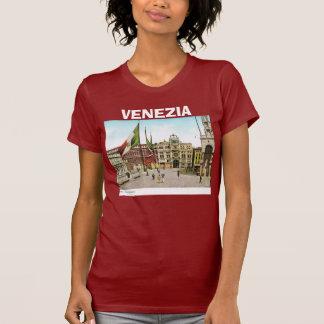 T-shirt Image vintage de Venise, Italie, 1910