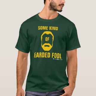 T-shirt Imbécile barbu