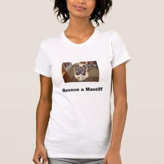 T-shirt IMG_0194_2, secourent un mastiff