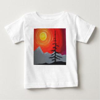 T-shirt impeccable de coucher du soleil