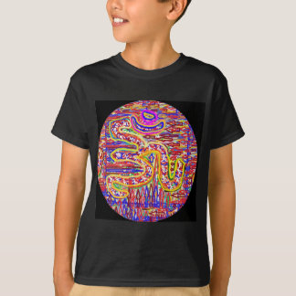 T-shirt Incantation de NOVINO OM - art d'acrylique de