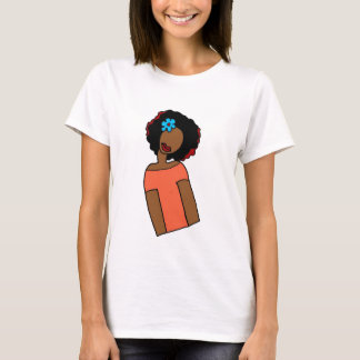 T-shirt Inclinaison naturelle