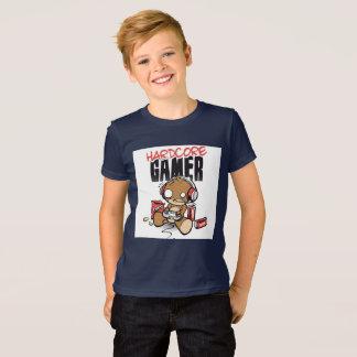 T-shirt inconditionnel de garçons de gamer