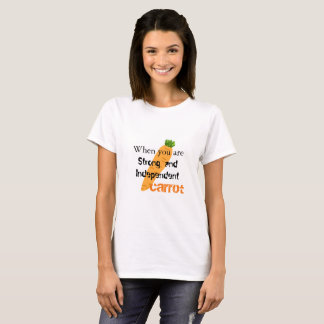 T-shirt Indépendant de carotte
