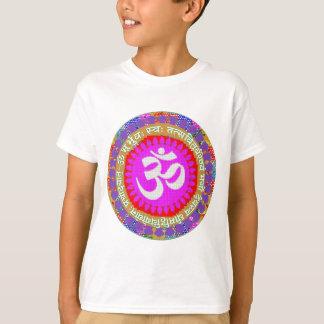 T-shirt Indien de yoga de religion d'hindouisme d'OmMantra