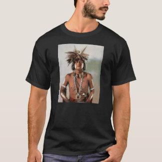 T-shirt Indien vintage de prêtre de serpent de Taqui AMoki
