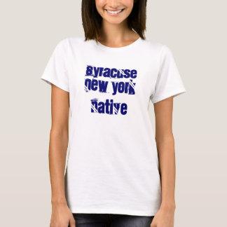 T-shirt Indigène de Syracuse New York