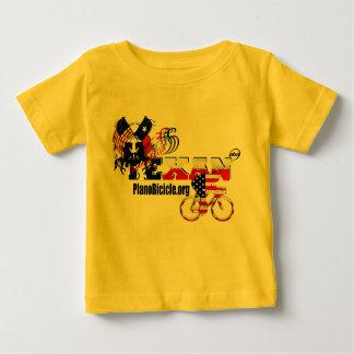 T-shirt infantile de recyclage texan de pur sang
