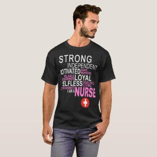 T-shirt Infirmière compatissante motivée d'indépendant