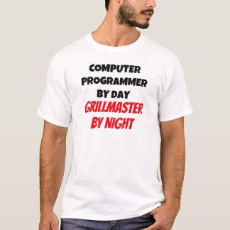 T-shirt Informaticien par jour Grillmaster par nuit