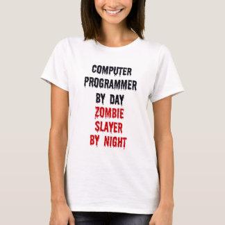 T-shirt Informaticien par le tueur de zombi de jour par
