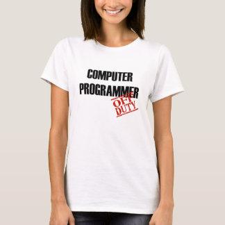 T-shirt Informaticien qui n'est pas de service