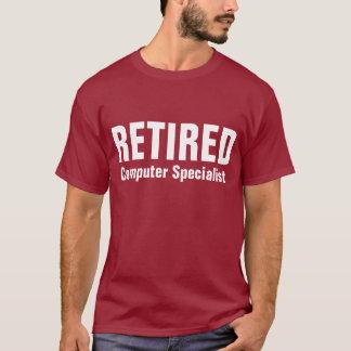 T-shirt Informaticien retraité