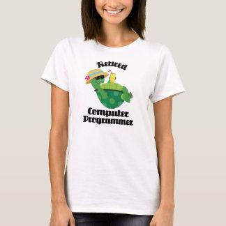 T-shirt Informaticien retraité (tortue)