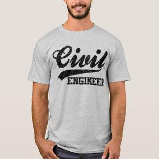 T-shirt Ingénieur civil