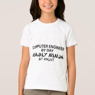T-shirt Ingénieur informaticien Ninja mortel