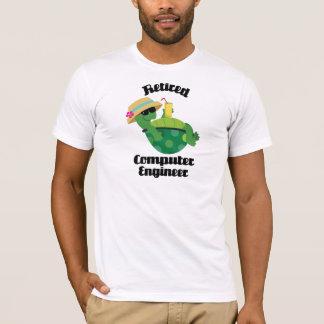 T-shirt Ingénieur informaticien retraité (tortue)