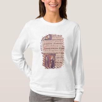 T-shirt Initiales 'P de Historiated