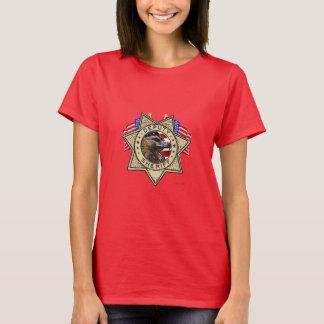 T-shirt Insigne d'assistant du shérif