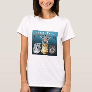 T-shirt Insignes de police