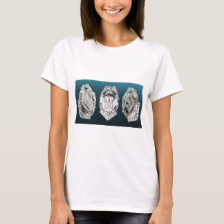 T-shirt Insignes d'investigateur