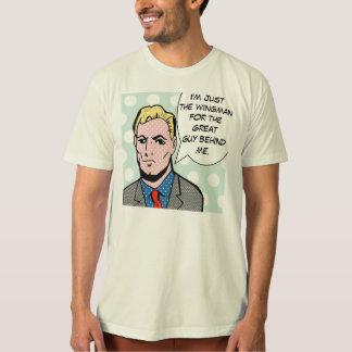 T-shirt instantané de bande dessinée de Wingman