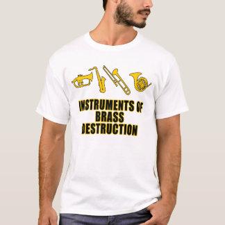 T-shirt Instruments de la destruction en laiton