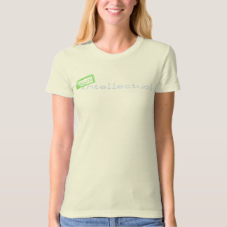T-shirt Intellectuel organique