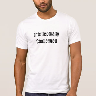 T-shirt intellectuellement contesté