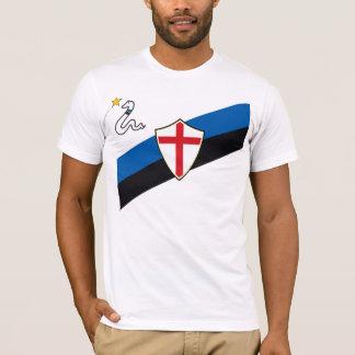 T-shirt Inter Vintage/Vers l'arrière