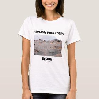 T-shirt Intérieur éolien de processus (érosion rocheuse de